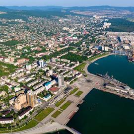 Микрорайон в Новороссийске