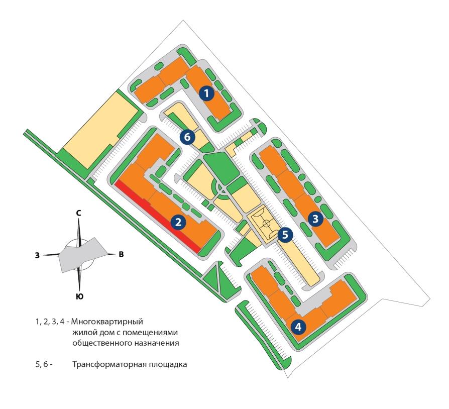 Генеральный план застройки Новороссийск